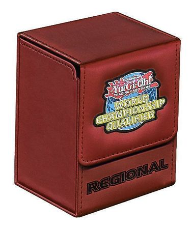 Yugioh WCQ Regional Red Deck Box | TrollAndTo