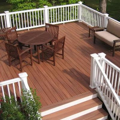 two tone deck color ideas - Google Search | Deck colors, Decks and .