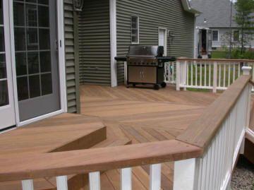 Deck color combination | Deck makeover, Deck, Deck colo