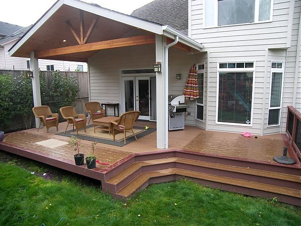 covered patio designs gable end patio cover built in corvallis .
