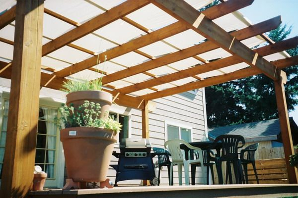 Stylish Patio Deck Cover Ideas 1000 Images About Deck Covers On .