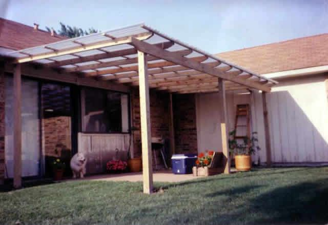 11. Fiberglass Patio Cover | Patio makeover, Backyard makeover .