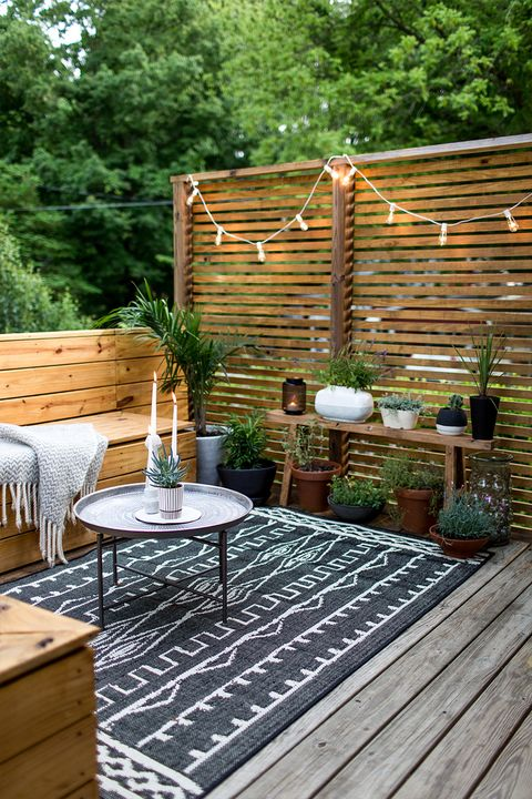 21 Creative Deck Ideas - Beautiful Outdoor Deck Designs to Try at Ho