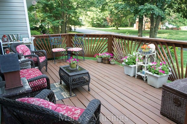 Deck Decorating Ideas on a Budg