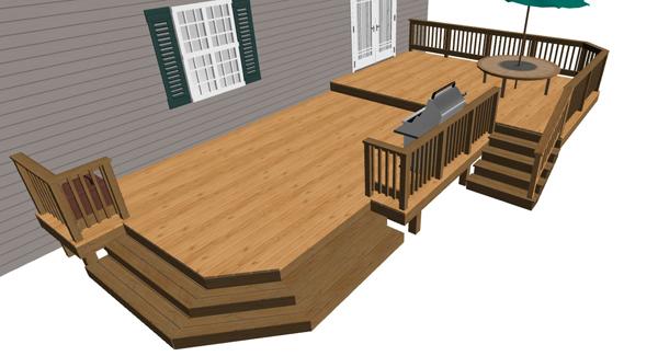 Salem oregon landscape companies, deck design low elevati