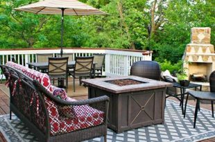Outdoor living | Patio furniture layout, Deck furniture layout .