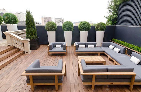 Amazing Deck Updates for Summer | Modern patio design, Outdoor .