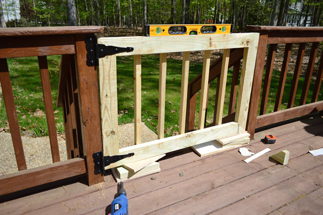 Deckgate (Literally, How To Make A Deck Gate) | Young House Lo