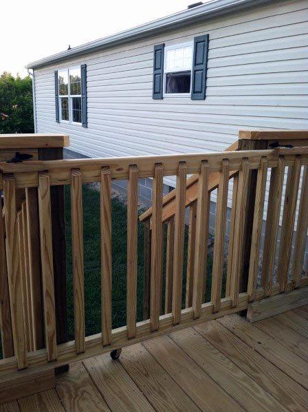 Top 50 Best Deck Gate Ideas - Backyard Desig