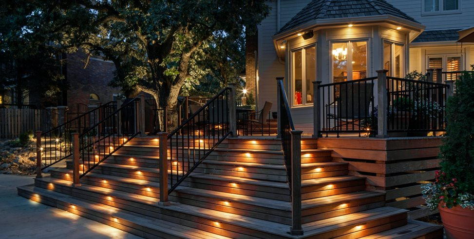 Deck Lighting Ideas - Landscaping Netwo