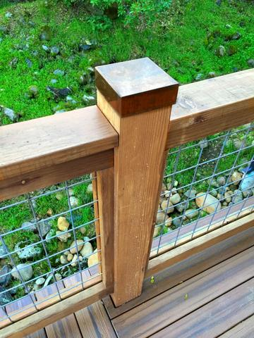 Copper Post Cap - Protect Fence and Deck | Sheet Metal Ca