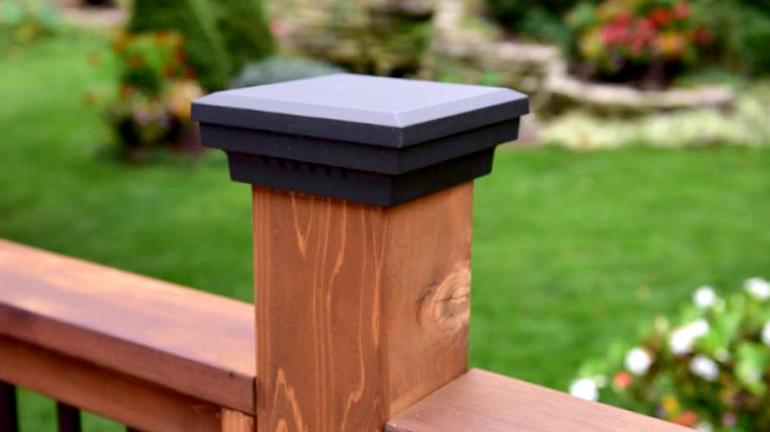 Aluminum Post Caps | Fence & Deck Post Caps - DecksDire