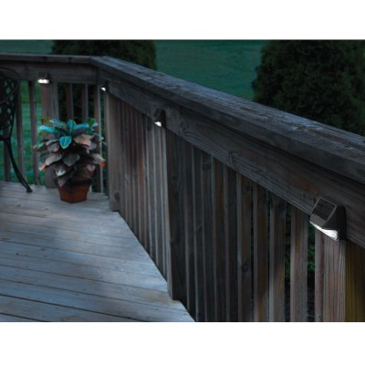 Solar Deck Post Lights (Set of 4) - from Sporty's Tool Sh