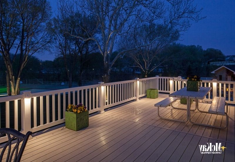 Modern Garden Low Voltage Deck Lighting | Deck lighting, Outdoor .