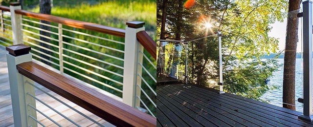 Top 70 Best Deck Railing Ideas - Outdoor Design Inspirati