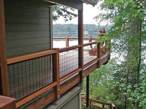 Hogwire Deck Railing Ide