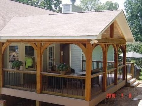 Deck Roof Styles - YouTu