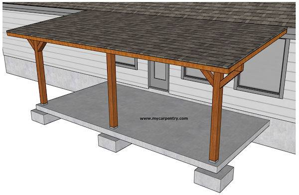 Patio Cover Plans - Build Your Patio Cover or Deck Cov