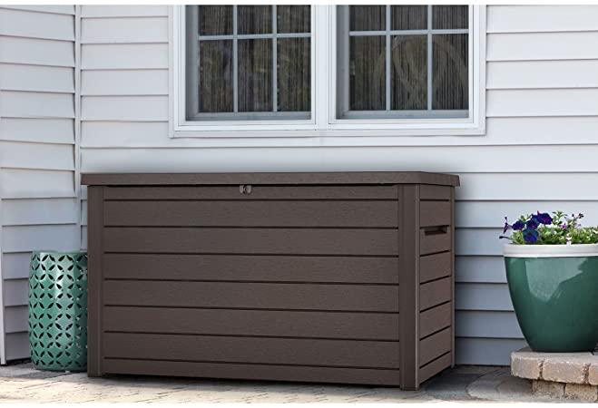 Amazon.com : Keter XXL 230 Gallon Plastic Deck Storage Container .