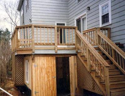 Dry under deck storage | Building a de