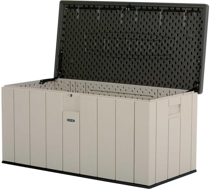 Lifetime Heavy-Duty 150 Gallon Outdoor Deck Storage Box (6025