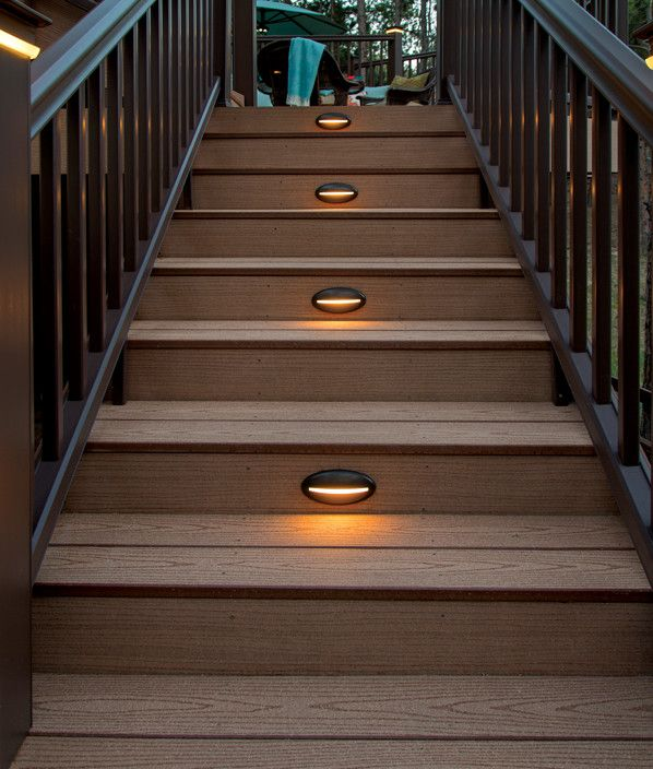 Different color of decking lights gives different type of pleasure .