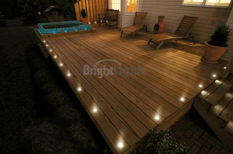 Outdoor lighting control systems: 10 Decking ligh