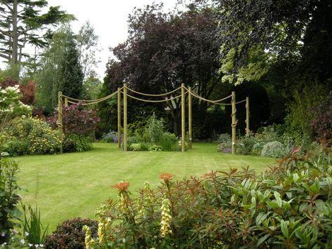 Garden Decking Rope from RopeandSplice.co.uk   Garden inspiration .