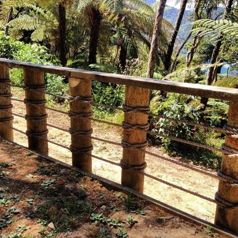 8 Fantastic Decking Rope Ideas - The Home Builders   Rope fence .