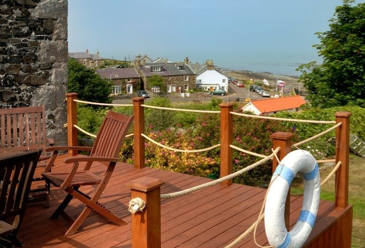 8 Fantastic Decking Rope Ideas - The Home Builders   Nautical .