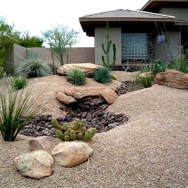 Desert Landscaping Ideas for Front Yard - Outdoors Home Ideas by .