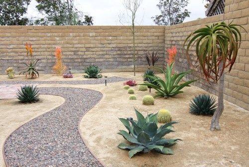 desert landscape ideas | Desert landscaping ideas / Rock Pathway .