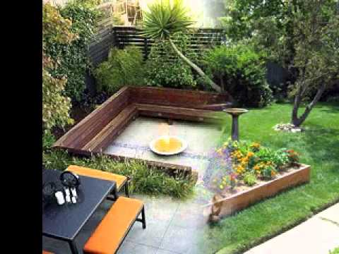 DIY Small backyard garden ideas - YouTu