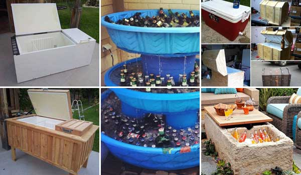 19 Clever DIY Outdoor Cooler Ideas Let You Keep Cool In The Summer .