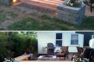 20+ Amazing Backyard Ideas on a Budget | Backyard, Diy patio, Pat