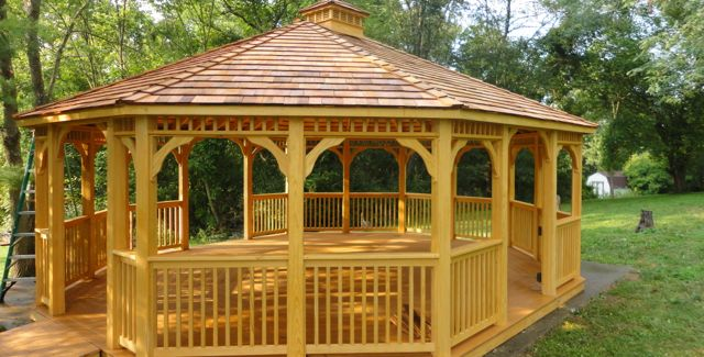 33 DIY Gazebo Plans-Learn How To Build A Gazebo With Free Plans .