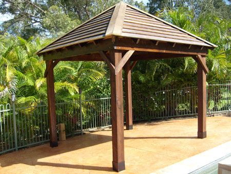 Outdoor Pavilion Plans | Free Outdoor Plans - DIY Shed | Gazebo .