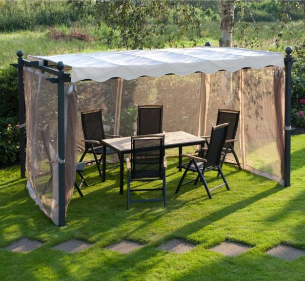DIY Wooden Gazebo Designs and Decorating Ide
