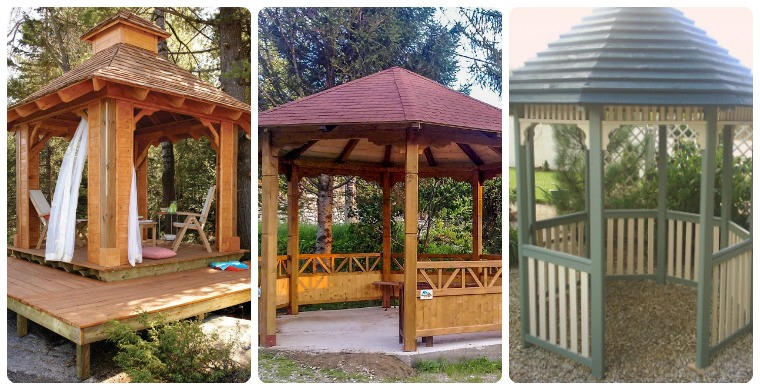7 DIY Gazebo Plans - Build One To Enjoy Outdoor Livi