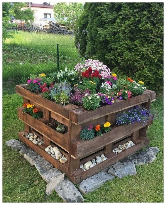 48 Simple, Easy And Cheap DIY Garden Landscaping Ideas ⋆ grandes.si