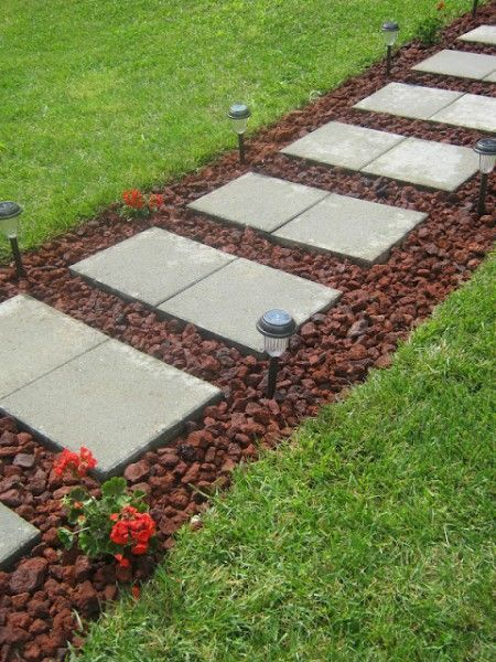 Increase your curb appeal with these landscaping DIY projects .