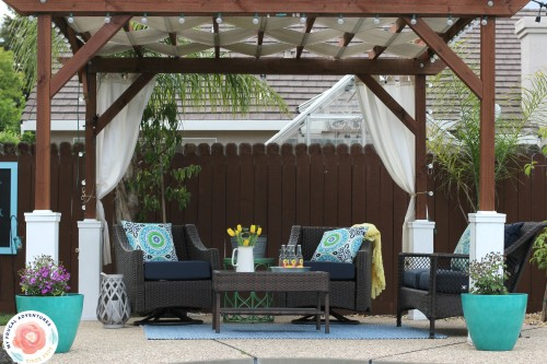 How to Build a Pergola - My Frugal Adventur