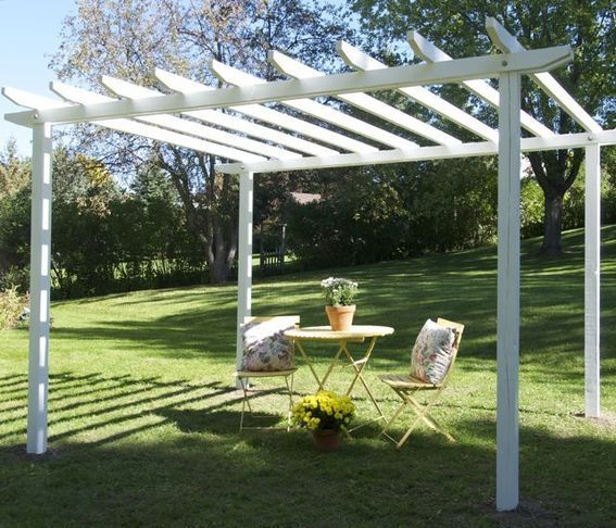 Make It! The Skilsaw Pergola | Diy pergola, Building a pergola .