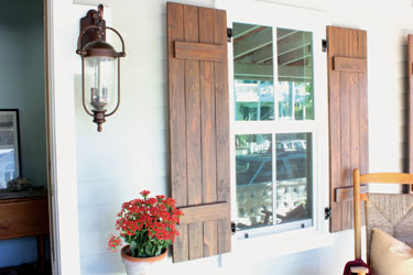 DIY Shutters | MOTHER EARTH NE