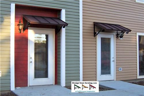Project Gallery - Metal Canopy Design - Design Your Awning | Front .