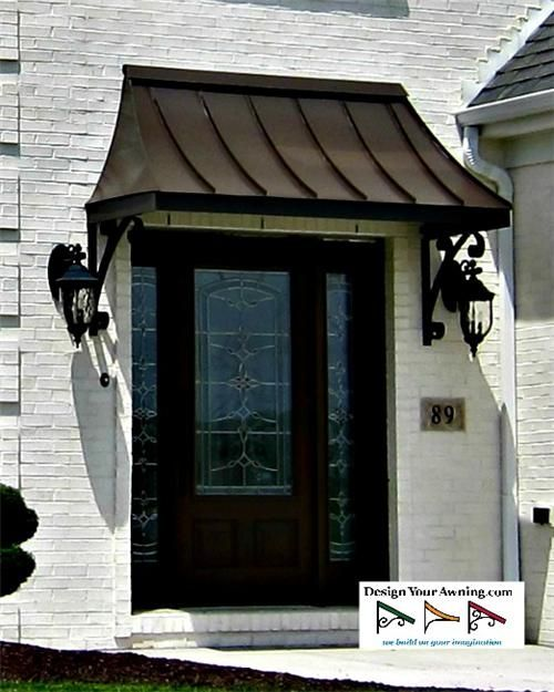 Project Gallery - Metal Canopy Design - Design Your Awning | Metal .