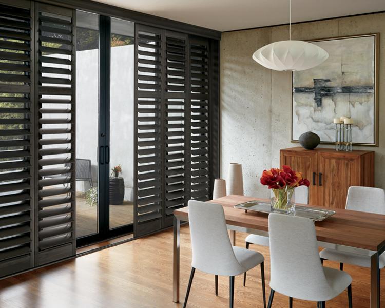 Sliding Glass Door Window Treatments | French Door Shad