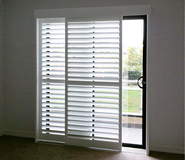 Review Sliding Door Shutters : Strangetowne - How To Decorate .