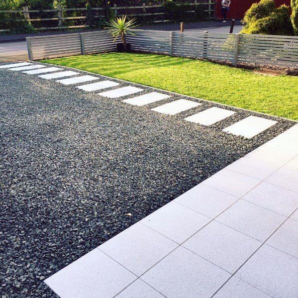 Top 60 Best Gravel Driveway Ideas - Curb Appeal Designs | Gravel .
