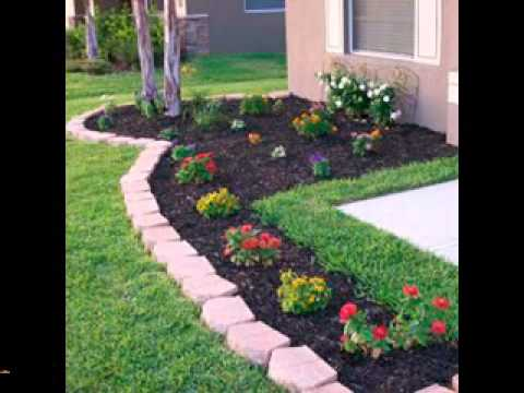 Easy DIY landscaping projects ideas - YouTu
